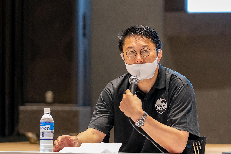 釜石シーウェイブスRFC 新体制発表記者会見