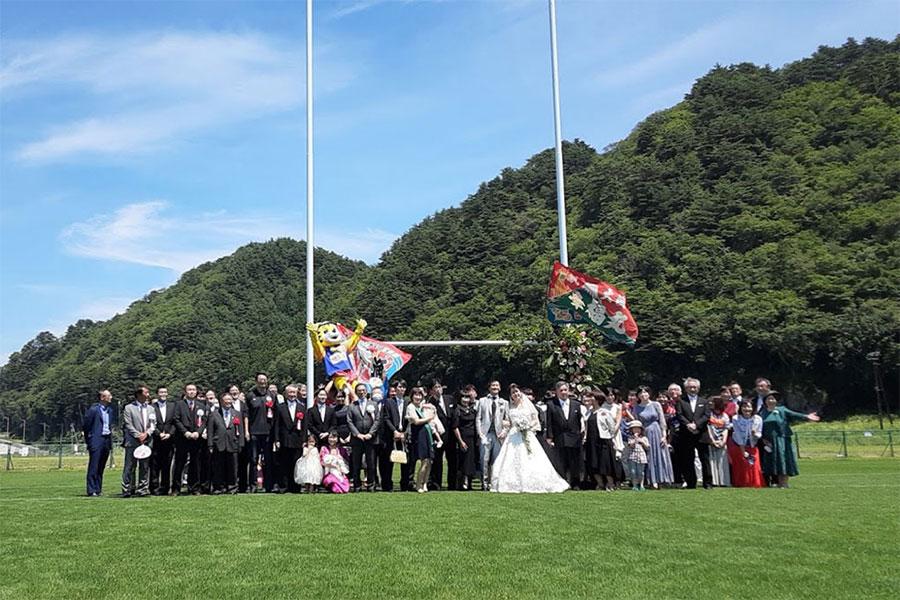 浄土ヶ浜パークホテル×釜石鵜住居復興スタジアム結婚式